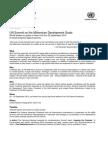 Mdg Summit Factsheet
