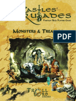 Castles & Crusades Monsters & Treasure (2nd Print)
