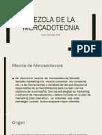 Mezcla de La Mercadotecnia