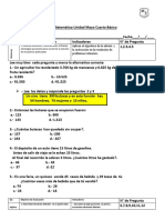 Evaluacion Mayo Cuarto