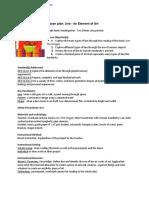 lessonplanline-anelementofart