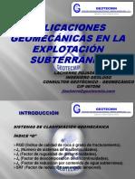 05. Aplicaciones Geomecánicas en La Explotación Subterránea