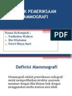 Kelompok 6 Mamografi
