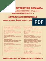 ANALES DE LITERATURA ESPAÑOLA