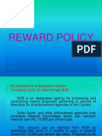 Reward Policy