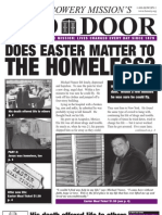 Mar 2007 Red Door Newsletter, Bowery Mission
