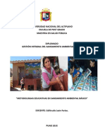 2015 Modulo Metodologias Educativas en Saba