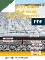 5.0 Stress Design of Rigid Pavements