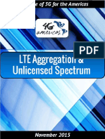 LTE Aggregation Unlicensed Spectrum White Paper