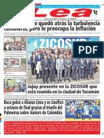 Periódico Lea Jueves 17 de Mayo Del 2018