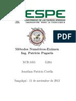 METODO NÚMERICO SPLIN GRADO 3