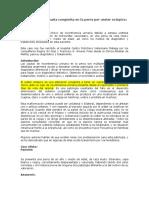 Incontinencia Urinaria Congénita en La Perra Por Ureter Ectópico