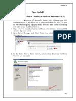 Computer Network Practical 19