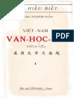 Việt Nam Văn Học Sử - Nghiêm Toản