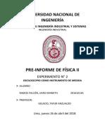 Pre Informe Del Laboratorio-5 Física 1