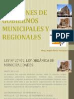 Funciones Del Gobierno Local y Regional