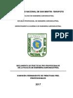 Reglamento Practicas Pre Nuevo 2017