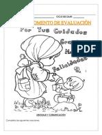 Preescolar || 3er momento de evaluación
