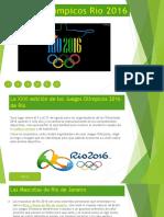 Juegos Rio de Janeiro 2016 - EderTaipeCuse.pptx