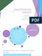 Cromatografía liquida diapos