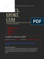 Alert_ Alerts in Oracle Apps_Human Resource