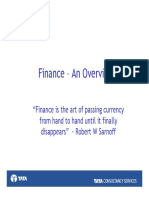 Finance an Overview