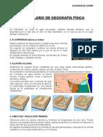 Vocabulario de Geografía Física 2010-2011