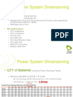 Power System Dimensioning (1)