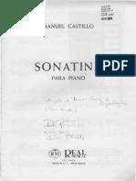 Sonatina - Manuel Castillo