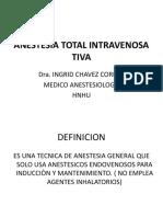 Anestesia Total Intravenosa Sjb