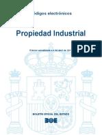 Código de la Propiedad Industrial (BOE)