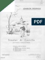 Sonatas de Castilla - Joaquin Rodrigo