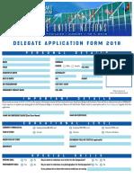 Delegate Application Form 2018 USLS