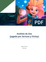 Consejos Para Zoe - Analisis de Sertuss y Vicksy