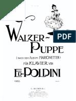 Poldini - Poupee Valsante