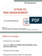 Introduction to Risk Management-2