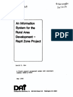An Information System for the Rural Area Development - Rapti Zone Project
