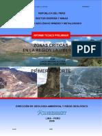 Zonas Criticas Region La Libertad