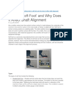 What is 'Soft Foot' and Why Does it Affect Shaft Alignment.docx