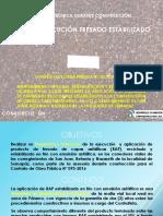 Revisión Ejecución Fresado - Estabilizado Contrato de Obra FDLS-095-2016