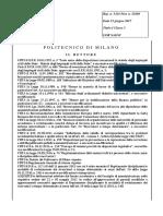 Regolamento Reclutamento Ricercatori t.d. Revisioni e Aggiornamenti