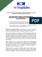 2015 10 08 Dra García de La Peña Para Abordar La Fibromialgia Es Fundamental Una Atención Multidisciplinar Ok