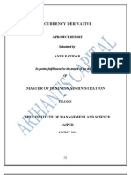 Currency Derivative Anup