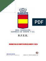 2018 Rfek Reg. Comp Kumite y Kata Ene