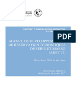 Rapport CRC