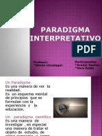 Exposicion Paradigma interpretativo