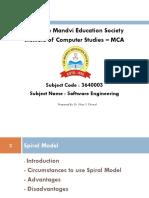 Unit 1 - Spiral Model