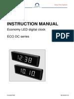 BE 800697.05 ECO DC 57 Digital Clock