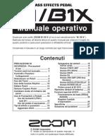 ZOOM_B1_B1X_Manuale