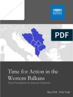 Time for Action in the Western Balkans
